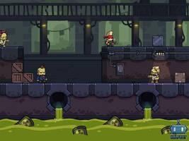 New Halfbot game Mockup by DerekLaufman