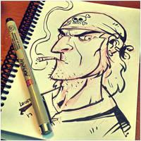 More Ink Warm ups! by DerekLaufman