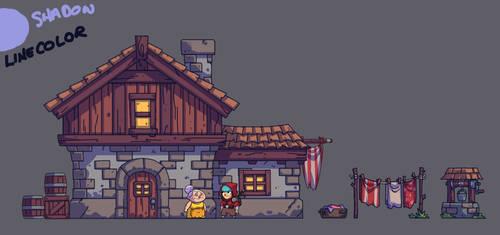 BULLET AGE: Village House by DerekLaufman