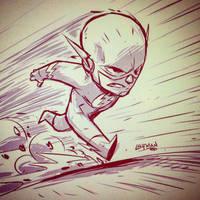 The Flash! by DerekLaufman