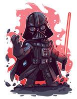 Chibi Vader by DerekLaufman