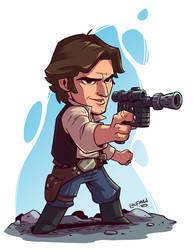 Chibi Han Solo by DerekLaufman
