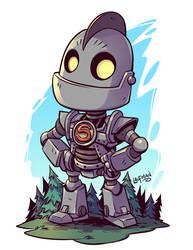 Chibi Iron Giant by DerekLaufman