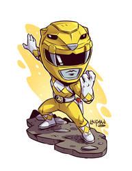 Yellow Ranger by DerekLaufman