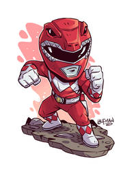 Red Ranger by DerekLaufman