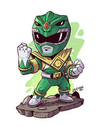 Green Ranger by DerekLaufman