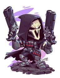 Chibi Reaper by DerekLaufman