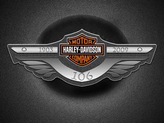 Harley Davidson logo by TheKid-Driver