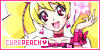 Cure Peach Stamp by Danichuy