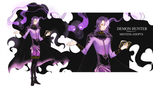 [ CLOSED  ] NEW DEMON HUNTER AUCTION by miotess-adopts