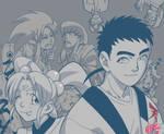 Tenchi and Fam by Gazzycakes