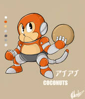 Sonic Badnik- Coconuts by sonicxamy09