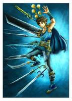 Final Fantasy V: Bartz by Marvolo-san