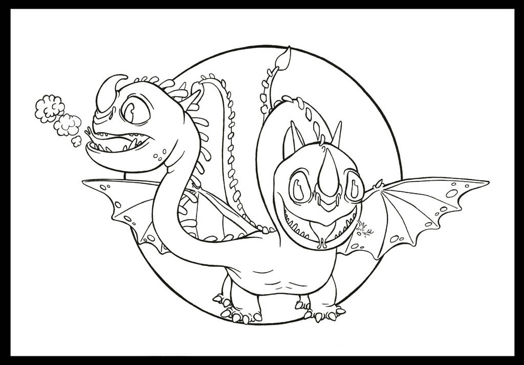 Lill Barf and Belch LINEART by Marvolo-san