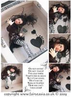 FAIRYTASIA - OOAK Doll Kerli by fairytasia