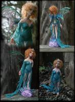 Harmony OOAK Rainbow Fairy 5 by fairytasia