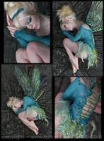 OOAK Sleepy Tinkerbell Fairy 3 by fairytasia