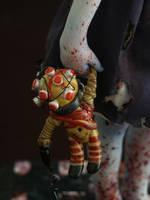 Little Sister Bioshock Sculpture Big Daddy Toy 1 by fairytasia