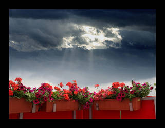 red balcony by ssilence