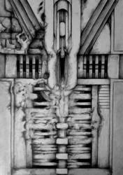 female machine part by SteAus