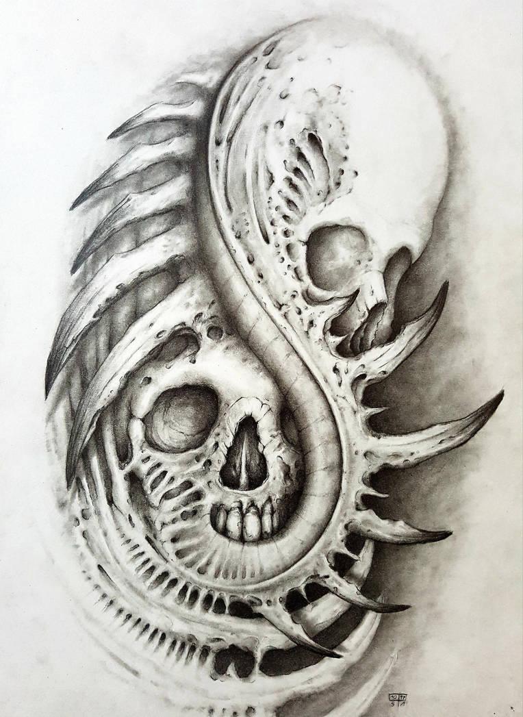 hidden skull re-up by SteAus