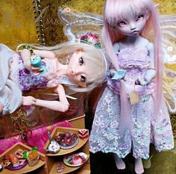 Nobledoll Rhubarbe Girls by Atelier-Cynamon