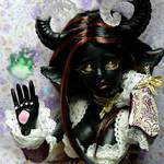 Cynamon - our selfmade black- skined doll ^^ by Atelier-Cynamon