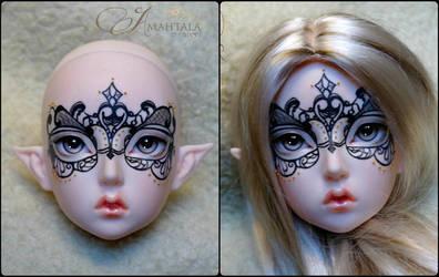 Maskcatdoll Elf Ruolan by Atelier-Cynamon