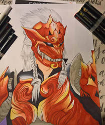 Odogaron Drawing by Atelier-Cynamon