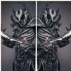 Daedric warrior by Atelier-Cynamon