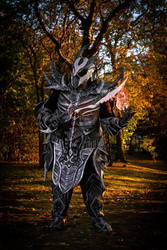 daedric armor by Atelier-Cynamon
