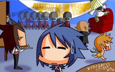 Happy New Year 2011 by KimYoshiko
