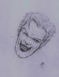 The Joker/pencilwork by KramOcrut