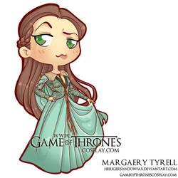 Chibi Margaery HBO by CalamityJade