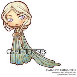 Chibi Daenerys Qarth by CalamityJade