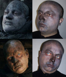 Wight make-up test by CalamityJade