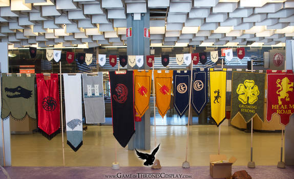 Banners of Westeros by CalamityJade