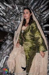 Roslin on the Throne by CalamityJade