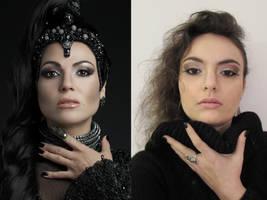 Regina make-up by CalamityJade
