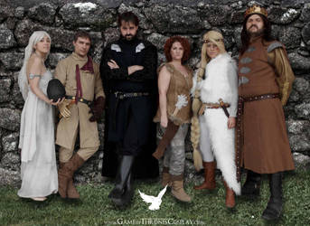Group at Romics 2014 by CalamityJade