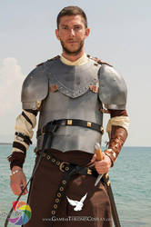 Ser Jorah Mormont by CalamityJade