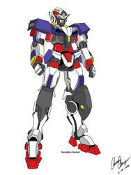 Gundam Axiom  by Tailgate04