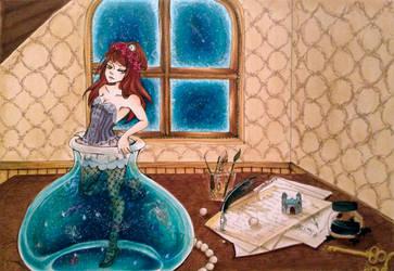 In a bottled Universe by Paingu