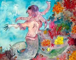 Sea Creature by Paingu