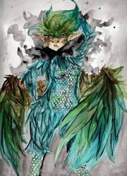 Bird Creature by Paingu