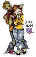 Zombie Hug by Ashley-Maez