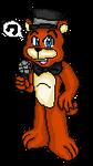 Pixel Art ~ Freddy Fazbear by SonicFazbear15