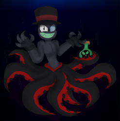 ~Hello You Poor Unfortunate Souls, Black Hat Here~ by SonicFazbear15