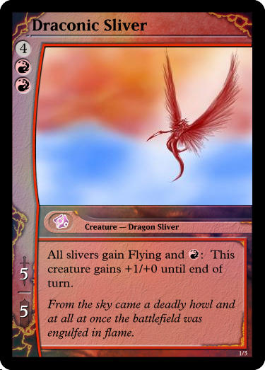 Draconic Sliver by chrosis
