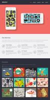 Singolo: Free Flat Single Page Website by PSDchat